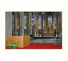 Eglise Saint Maurice - Lille - France Art Print