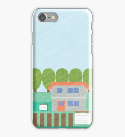Pallet Town Print iPhone Case/Skin