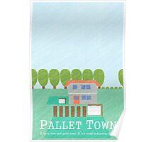 Pallet Town Print Poster