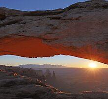 Mesa Arch Sunrise by William C. Gladish, World Design