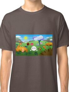 Happy Colorful Planet 01 Classic T-Shirt