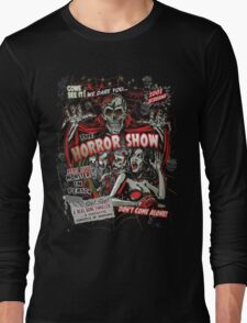 Spook Show Horror movie Monsters  Long Sleeve T-Shirt