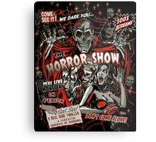 Spook Show Horror movie Monsters  Metal Print