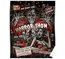 Spook Show Horror movie Monsters  Poster