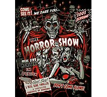 Spook Show Horror movie Monsters  Photographic Print
