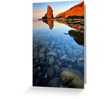 beauty coast line Greeting Card