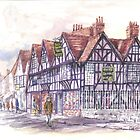 Weavers House Canterbury by Phil Willetts