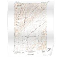USGS Topo Map Washington State WA Clyde 240581 1967 24000 Poster