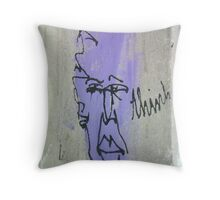 Jazz Fro Throw Pillow