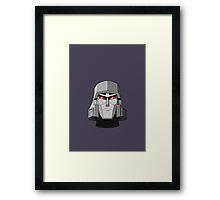 G1 Megatron Framed Print