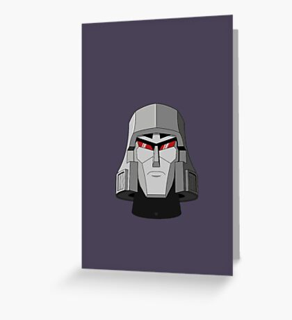 G1 Megatron Greeting Card