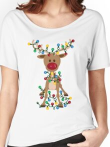 Adorable Reindeer Women's Relaxed Fit T-Shirt