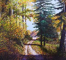 Autumn Heights by Paula Oakley