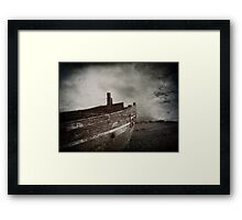 Dreams of places far away Framed Print