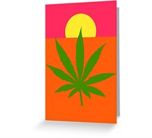 Marijuana Greeting Card
