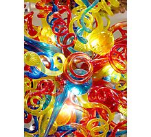 Colorful Glass Photographic Print