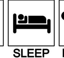 Eat Sleep Kenpo Sticker