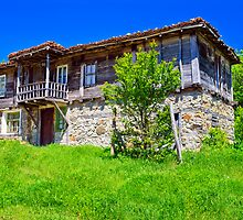 old historic house in Strandjha by plamenx