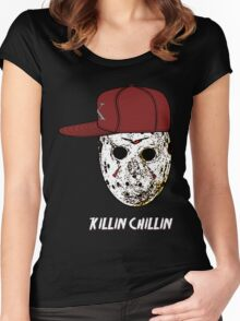 Chillin & Killin Women's Fitted Scoop T-Shirt