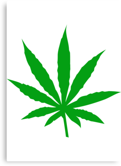 Marijuana Leaf by MarijuanaTshirt