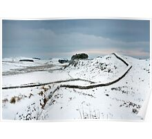 Housesteads Crag Poster
