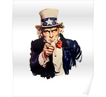 Vintage Uncle Sam Poster