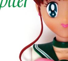 I am Sailor Jupiter Sticker