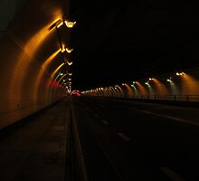 Striped Tunnel by OffOn