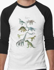 Dinosaurs Men's Baseball ¾ T-Shirt