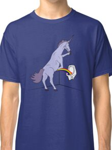 Unicorns Piss Rainbows? Classic T-Shirt