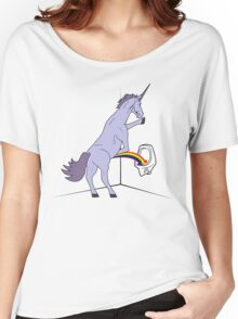 Unicorns Piss Rainbows? Women's Relaxed Fit T-Shirt