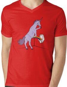Unicorns Piss Rainbows? Mens V-Neck T-Shirt