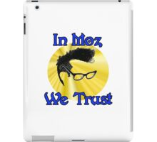 In Moz We Trust iPad Case/Skin