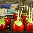 Candied Apples In Christmas Colors by CarolM