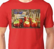 Candied Apples In Christmas Colors Unisex T-Shirt