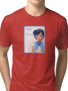 I am Sailor Mercury Tri-blend T-Shirt