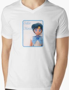 I am Sailor Mercury Mens V-Neck T-Shirt