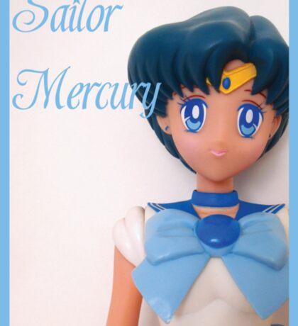 I am Sailor Mercury Sticker