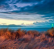 sunset at the dunes by paul mcgreevy