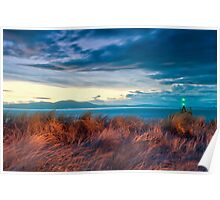 sunset at the dunes Poster