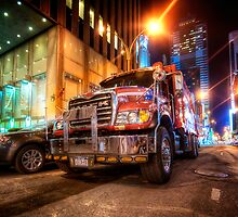 Mack Truck NYC by Yhun Suarez