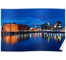 salthouse dock, liverpool Poster
