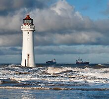 perch rock lighthouse by paul mcgreevy