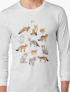 Foxes Long Sleeve T-Shirt