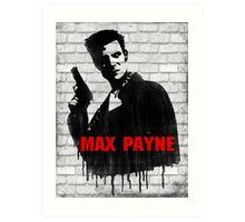 Max Payne Art Print