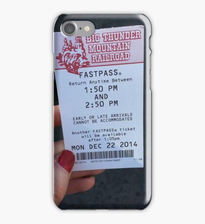 Big Thunder Mountain iPhone Case/Skin