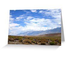 Desertscape Greeting Card