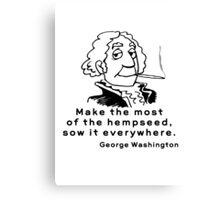 Funny Marijuana Canvas Print