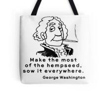 Funny Marijuana Tote Bag