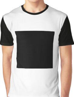 Black Square  Graphic T-Shirt